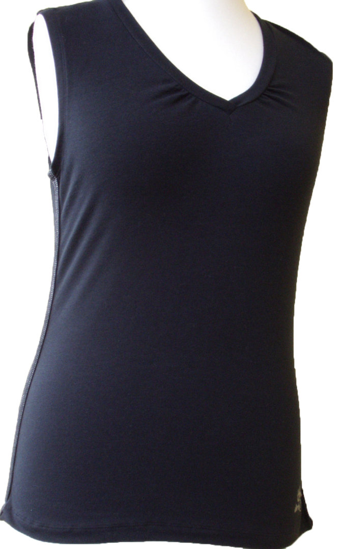 premium selection a192c aa99f Damen Top, ärmelloses Shirt von CMP, schwarz, Sport und Gymnastik