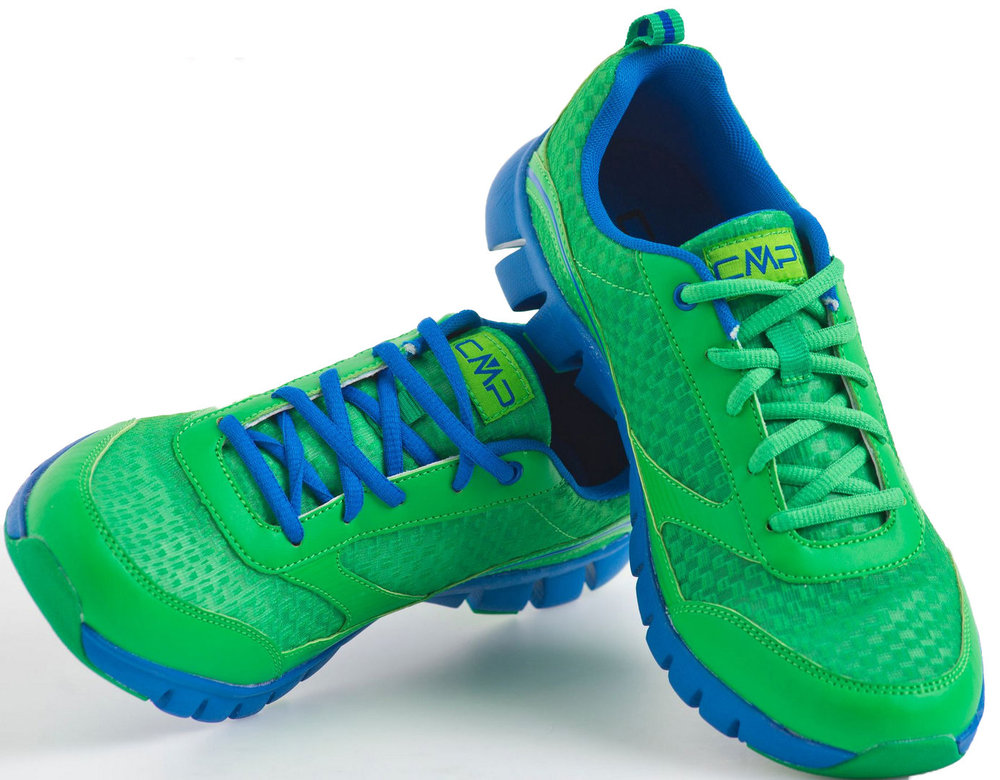 Jungen Sportschuhe Freizeitschuhe, Jungen Sneakers CMP grün blau