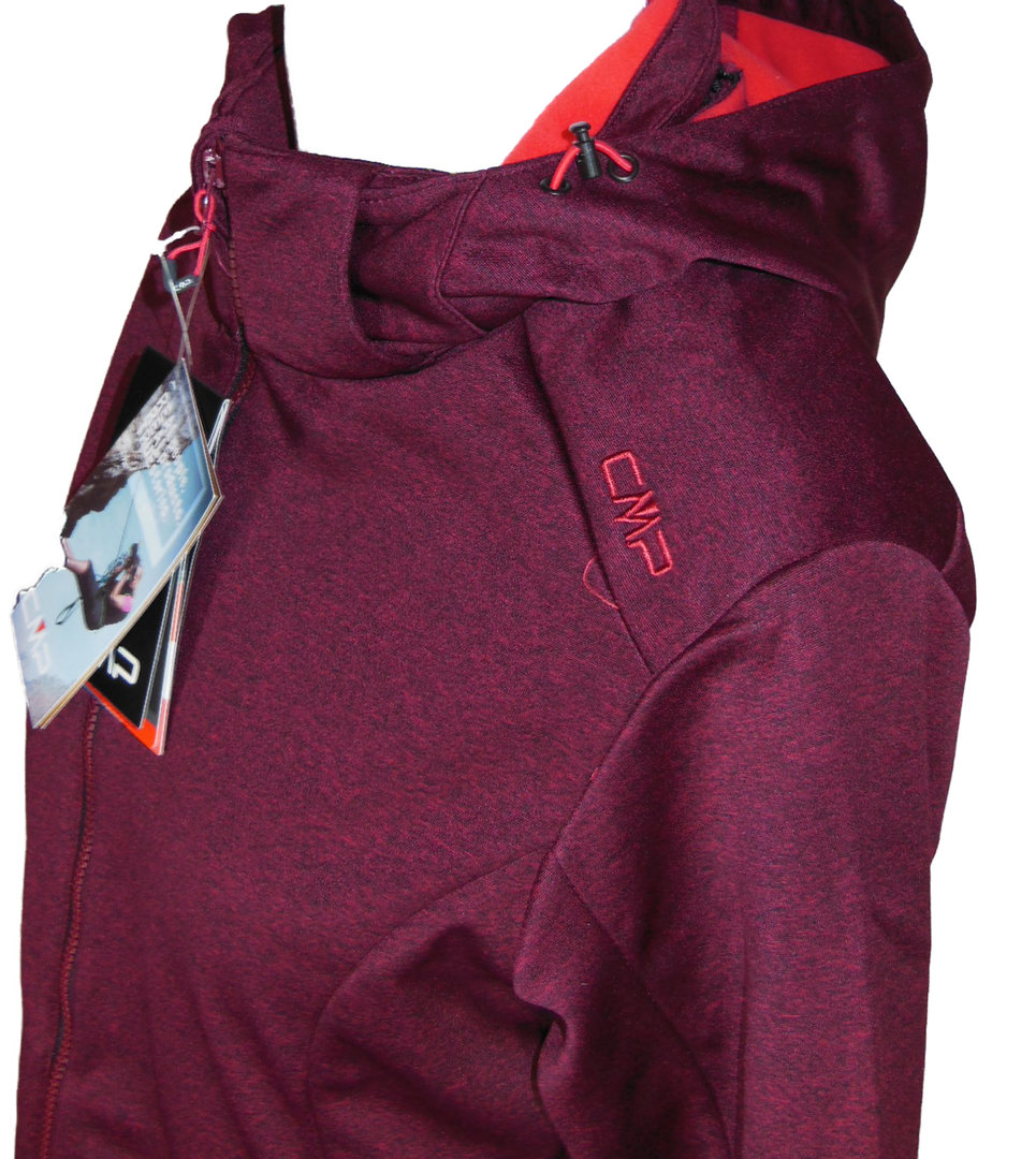 Softshell jacke damen bordeaux