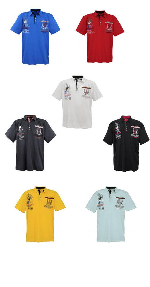 huge discount aed05 860d9 Herren Poloshirt Übergröße von Lavecchia XXL-Kollektion! LV-2038